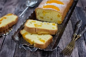 Add a unique touch to your pound cake with a fruit filling.