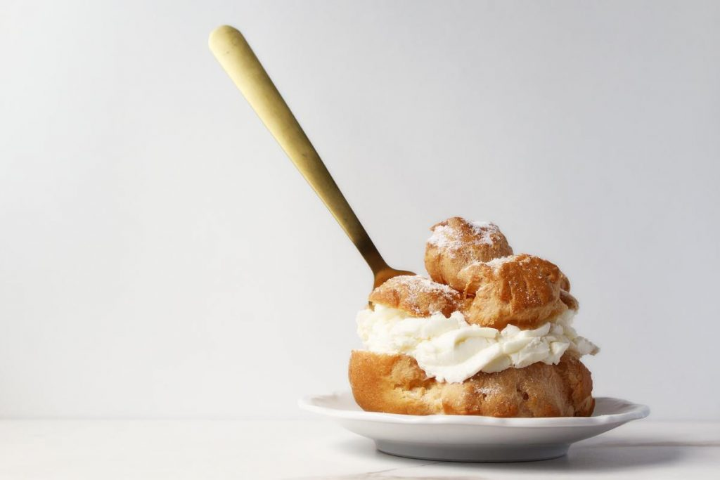 Choux pastry is a key component of profiteroles, among many other dishes.