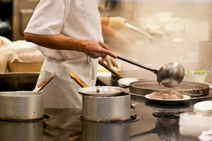 Working together in the kitchen to create new dishes benefits customers and staff alike.