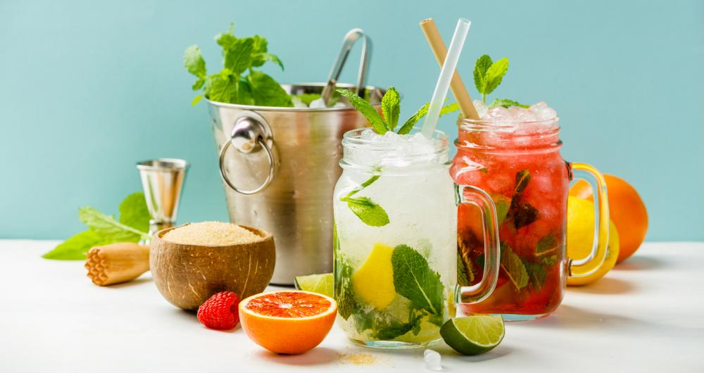 Booze-free beverages are all about creativity and flavor combinations.