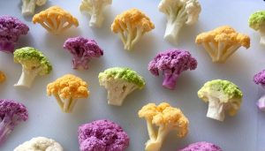 Fun fact: Cauliflower can come in more colors than just white.