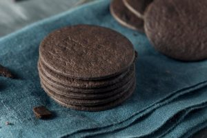 A chocolate base for a cookie can make it that much more unique.