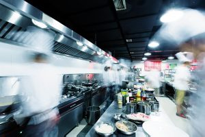 Ghost restaurants are real, but don't generally have a front of house or accept customers inside them.