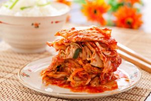 Kimchi is a favorite among the pro-probiotics crowd.