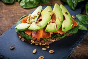 Avocados, salmon and oats are all examples of functional foods.