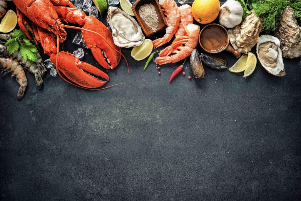 Seafood is popular close to and far from the ocean.