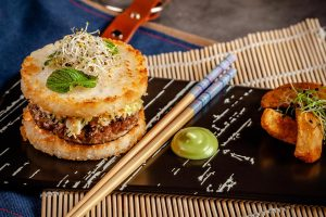 Fusion cuisine can draw inspiration from any type of food.