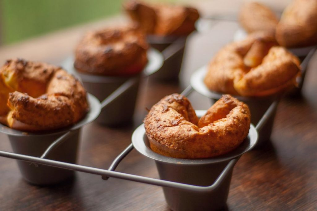 Get popovers out of the tin fast or they could lose their shape.
