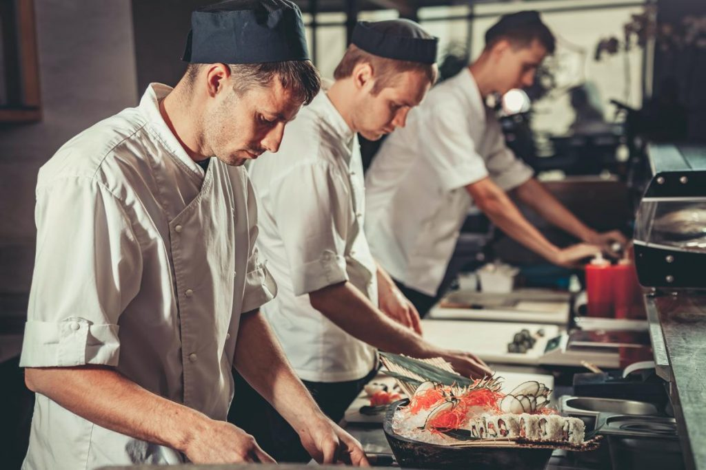 Standing out in the kitchen requires competency, attentiveness and confidence.