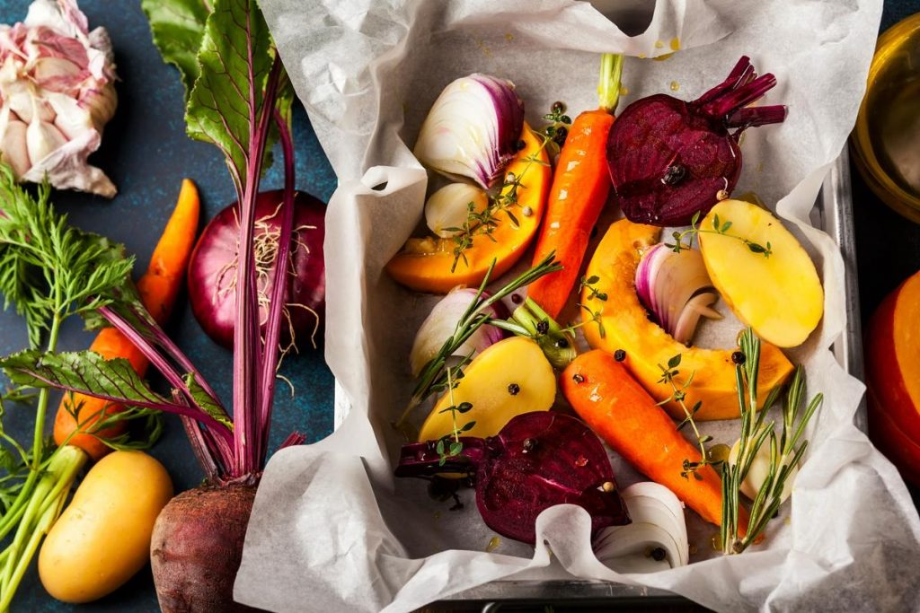 Texas has a wide variety of fruits and vegetables that are available year-round.